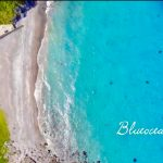 【神津島】ドローンの映像から見る返浜がもはや楽園だと話題に