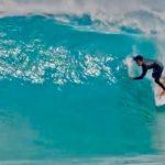 【新島】日本のトッププロの大原ヒロトがサーフアイランド新島でサーフィン