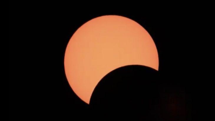 日本全国でみられた部分日食